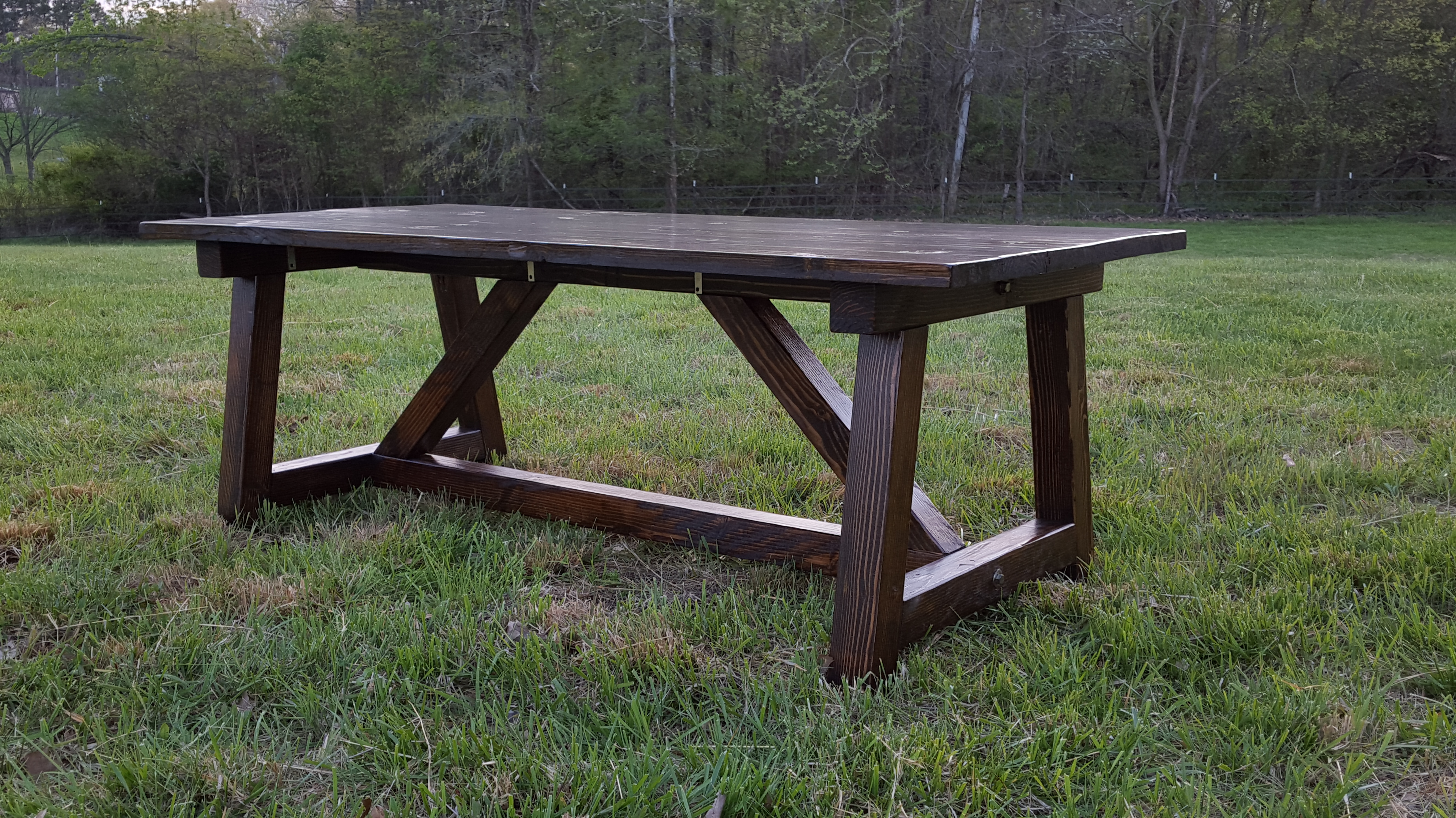 4X4 Truss Table – Blair Wrye Designs